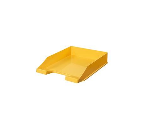 Corbeille à courrier 255 x 65 mm C4 jaune
