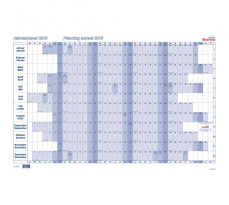 BEREC Planning annuel oblong 90x60cm