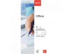 ELCO Office enveloppes blanches fenêtre à droite C5/6 FSC 80gr. -50 pces-