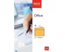 ELCO Office enveloppes jaunes sans fenêtre C5 FSC 120gr. -25 pces-