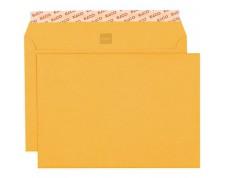 ELCO Optifix enveloppes jaunes sans fenêtre C5 papier recyclé 100% 120gr. -500 pces-