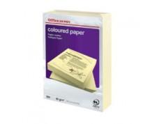 Papier couleur A4 80 g/mq jaune 500 feuilles