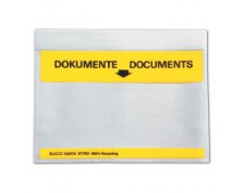 ELCO Pochettes porte-documents Quick Vitro C6 'Documents' 167 x 110 mm 250 pièces
