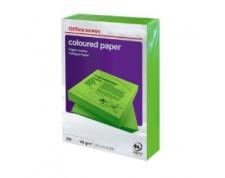 Papier couleur A4 80 g/mq vert 500 feuilles