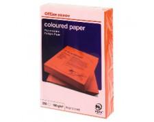 Papier couleur A4 80 g/mq rouge 500 feuilles