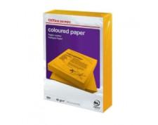 Papier couleur A4 80 g/mq orange 500 feuilles