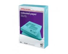 Papier couleur A4 80 g/mq bleu intense 500 feuilles