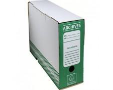 EXACOMPTA Boîte d'Archive Vert 25x34x10cm