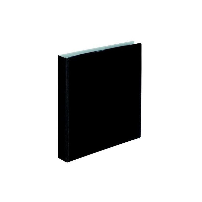 KOLMA Visit Album A Anneaux Noir A4 Pour Classement Carte De Visite 100x55mm