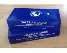 VALERIA ET LAURA Mouchoirs papier 2 plis -Boîte de 100-