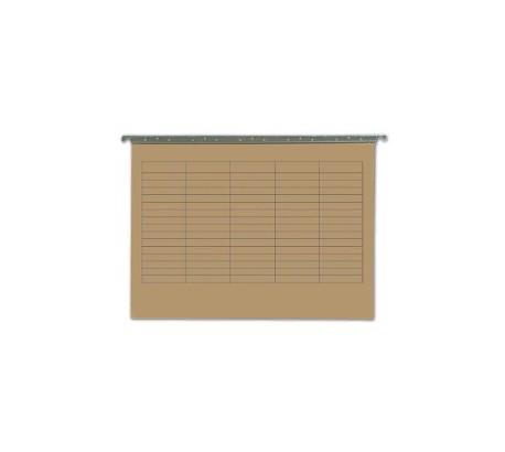 NICEDAY Dossiers suspendus carton 24 cm 250 g/mq 50 pièces
