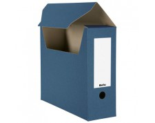 BIELLA Boîte archive A4 bleu